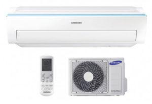 Samsung Triangle AR09RXWSAURNEU inverteres oldalfali split klíma I 2,5 kW