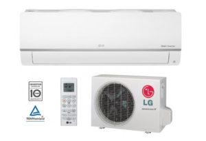 LG Silence Plus WIFI PC09SQ Inverteres Oldalfali Split Klíma I 2,5 kW