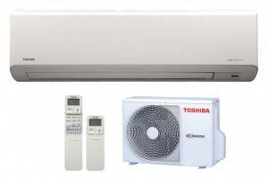 Toshiba Suzumi RAS-B10PKVSG-E inverteres oldalfali split klíma I 2,5 kW